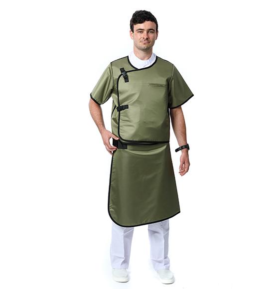 北京双面分体短袖铅衣