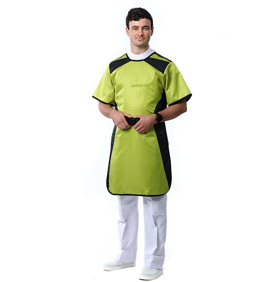 短袖单面防辐射裙